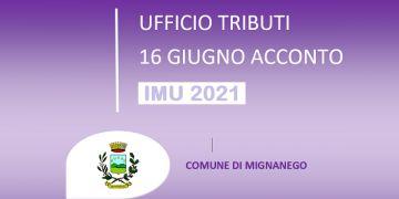IMU 2021 - SCADENZA ACCONTO 16 GIUGNO 2021