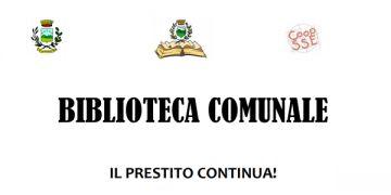 BIBLIOTECA COMUNALE - IL PRESTITO CONTINUA